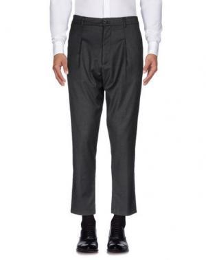 Повседневные брюки IMB I'M BRIAN. Цвет: свинцово-серый