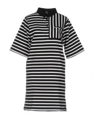 Короткое платье LE MONT ST MICHEL. Цвет: черный
