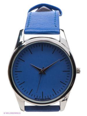 Часы Mitya Veselkov Классика. Цвет: синий