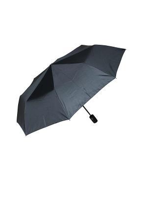 Зонт черный Mitya Veselkov. Цвет: черный