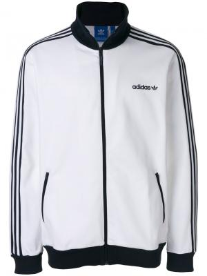Спортивная куртка BB Adidas Originals. Цвет: белый
