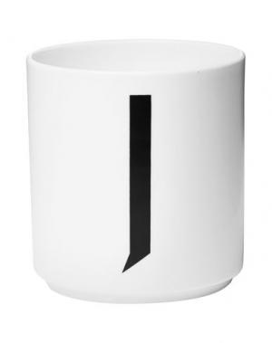 Для чая и кофе DESIGN LETTERS. Цвет: белый