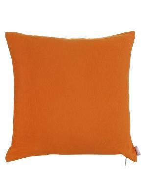 Чехол для декоративной подушки Love the discovery Apolena. Цвет: оранжевый