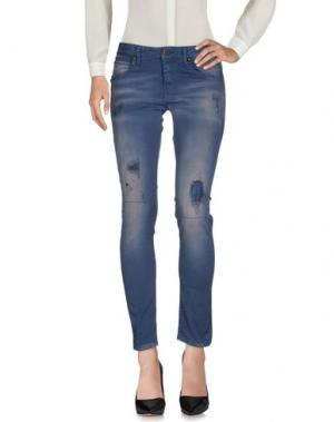 Повседневные брюки AB/SOUL. Цвет: грифельно-синий