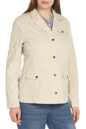 Куртка HARTWEAR. Цвет: бежевый