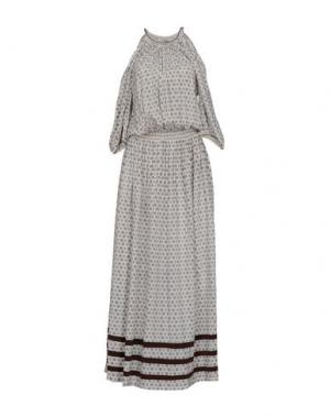 Длинное платье TALITHA. Цвет: светло-серый