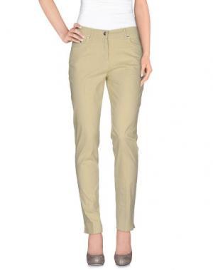 Повседневные брюки JEANS & POLO. Цвет: бежевый