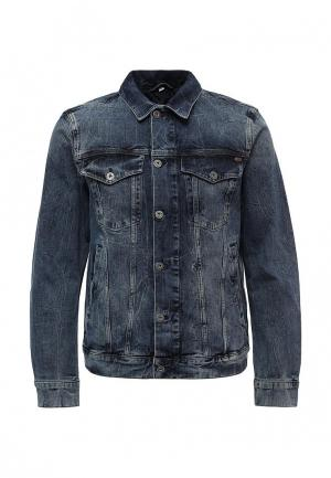 Куртка джинсовая Mustang. Цвет: синий