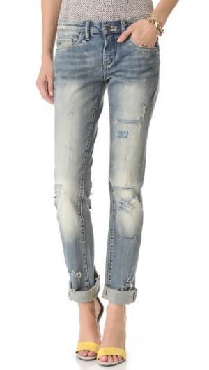 Свободные прямые джинсы Blank Denim. Цвет: flavor savor