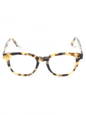 Очки с эффектом черепашьего панциря Ahlem. Цвет: телесный