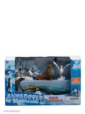Набор фигурок Антарктические животные Happy Kin. Цвет: голубой