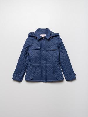 Куртка SELA. Цвет: индиго