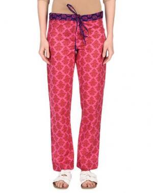 Повседневные брюки OPALINE. Цвет: фуксия