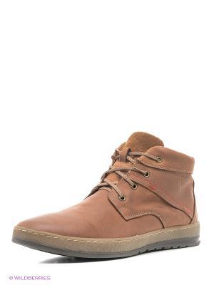 Ботинки VelVet. Цвет: рыжий