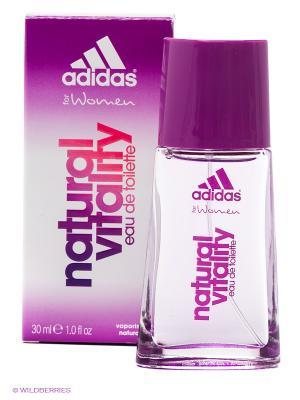 Туалетная вода adidas Natural Vitality для женщин 30мл. Цвет: лиловый