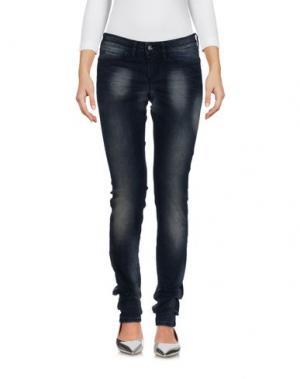 Джинсовые брюки BARBARA BUI. Цвет: синий