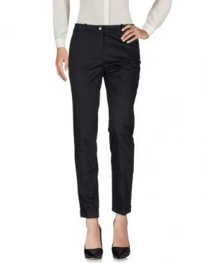 Повседневные брюки ROSSO35. Цвет: черный