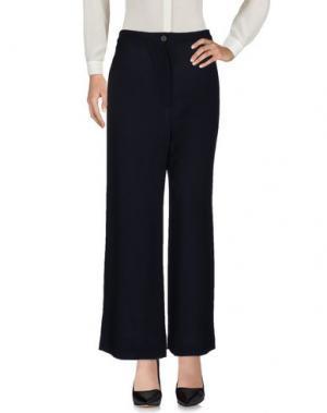 Повседневные брюки KristenseN DU NORD. Цвет: темно-синий