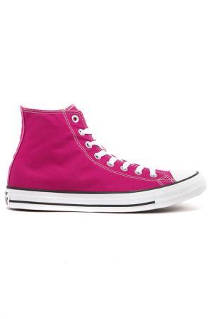 Кеды Converse. Цвет: розовый