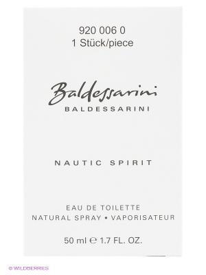 Туалетная вода Nautic Spirit , 50 мл BALDESSARINI. Цвет: прозрачный