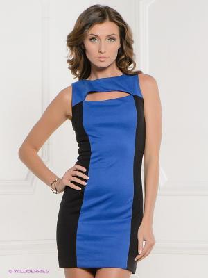 Платье Acasta. Цвет: синий, черный