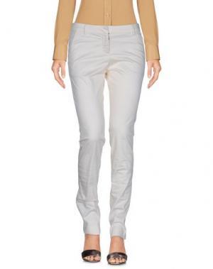 Повседневные брюки COAST WEBER & AHAUS. Цвет: слоновая кость