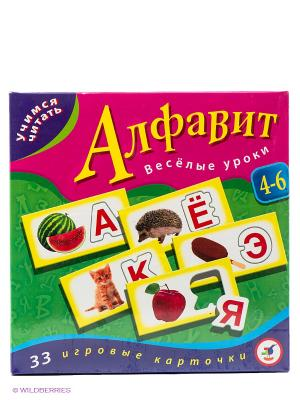 Настольная игра Алфавит Дрофа-Медиа. Цвет: зеленый