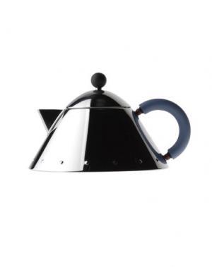 Для чая и кофе ALESSI. Цвет: лазурный