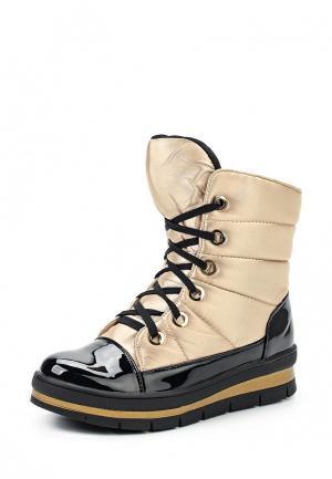 Ботинки Bona Dea. Цвет: золотой