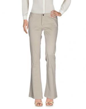 Повседневные брюки TRY ME. Цвет: бежевый
