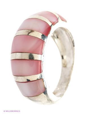 Ювелирное кольцо Infiniti. Цвет: серебристый, розовый