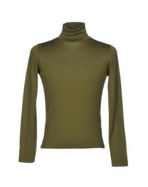Водолазки PAL ZILERI. Цвет: зеленый-милитари