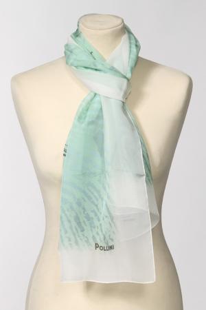 Палантин Pollini. Цвет: зеленый