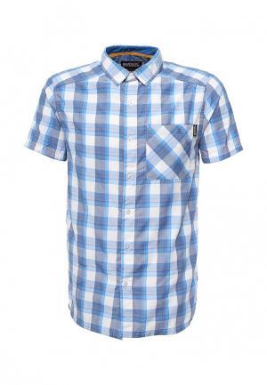 Рубашка Regatta. Цвет: голубой