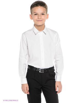 Рубашка S`Cool. Цвет: белый