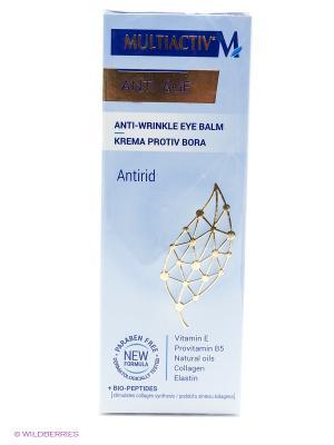 Kрем для контурa глаз  MULTIACTIV АNTI AGE. Цвет: белый, голубой