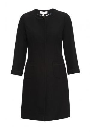 Пальто из хлопка 163213 Anna Verdi. Цвет: черный