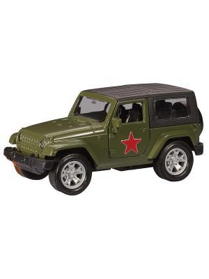 Машина USA ALLROAD 4WD армейская AUTOTIME. Цвет: хаки