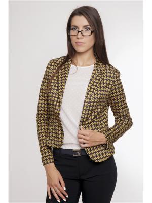 Жакет Gaudi. Цвет: желтый