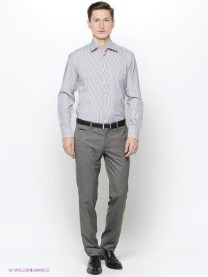 Рубашка Hans Grubber. Цвет: фиолетовый