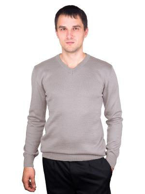 Пуловер CASINO. Цвет: бежевый