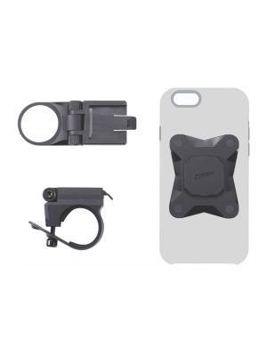 Комплект крепежа для телефона BBB Warden universal. Цвет: черный
