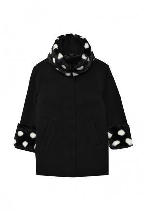 Пальто Sisley. Цвет: черный