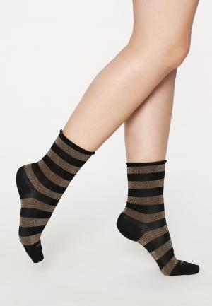 - Shiny Stripe Носки Burlington