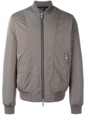 Куртка бомбер Blk Dnm. Цвет: зелёный