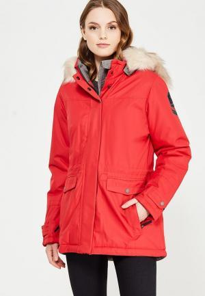 Куртка утепленная Torstai. Цвет: красный