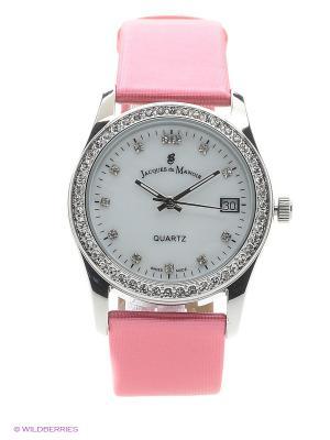 Часы Jacques du Manoir. Цвет: серый