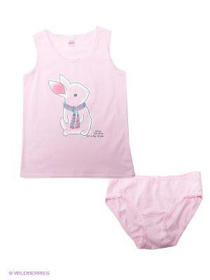 Комплект Vis-a-vis. Цвет: розовый