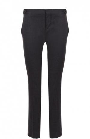 Укороченные брюки прямого кроя со стрелками Dsquared2. Цвет: серый