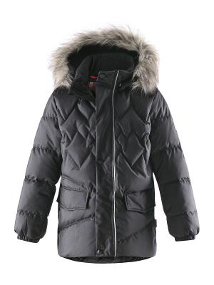 Куртка Reima. Цвет: черный